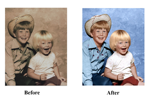 Photo Restoration Service | Old Photo Specialists