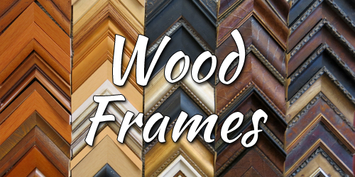 online custom framing store wood