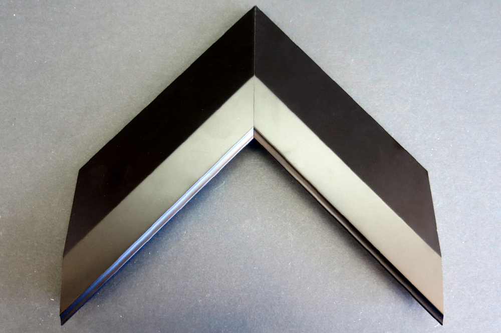 Black and Silver Way Picture Frame 20-300-255