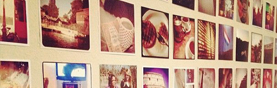 instagram picture frame gallery wall