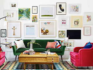 perfect gallery wall top 5 tips