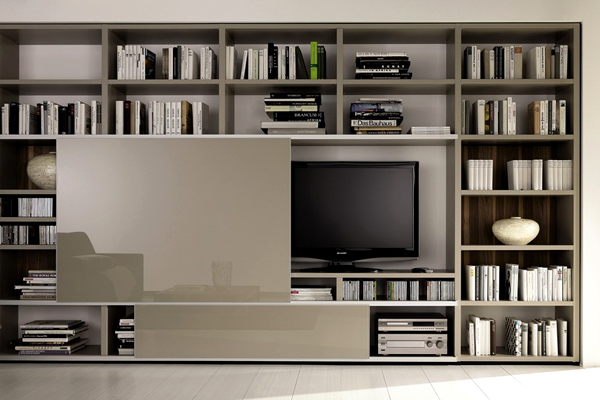 decorate-around-a-television-bookcase
