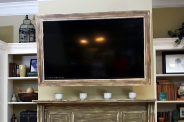 decorate-around-a-television-tv-framed