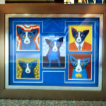 custom framing portfolio