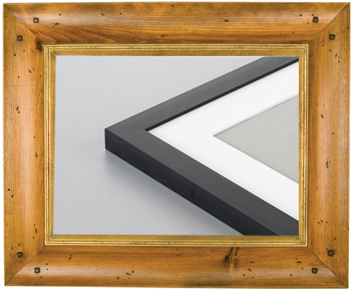 wood-metal-frame